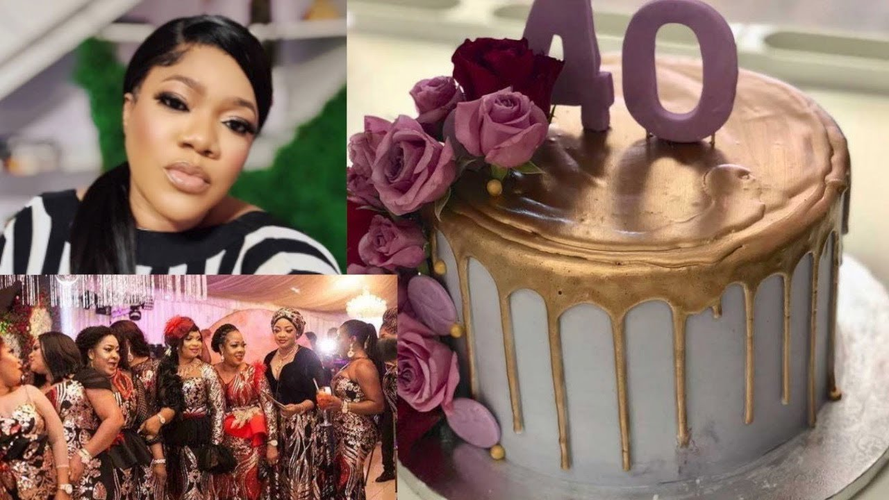 Download Yoruba Actors/Actresses Celebrate Toyin Abraham As She Clocks 40 Years Old