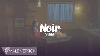 MALE VERSION | SUNMI - Noir