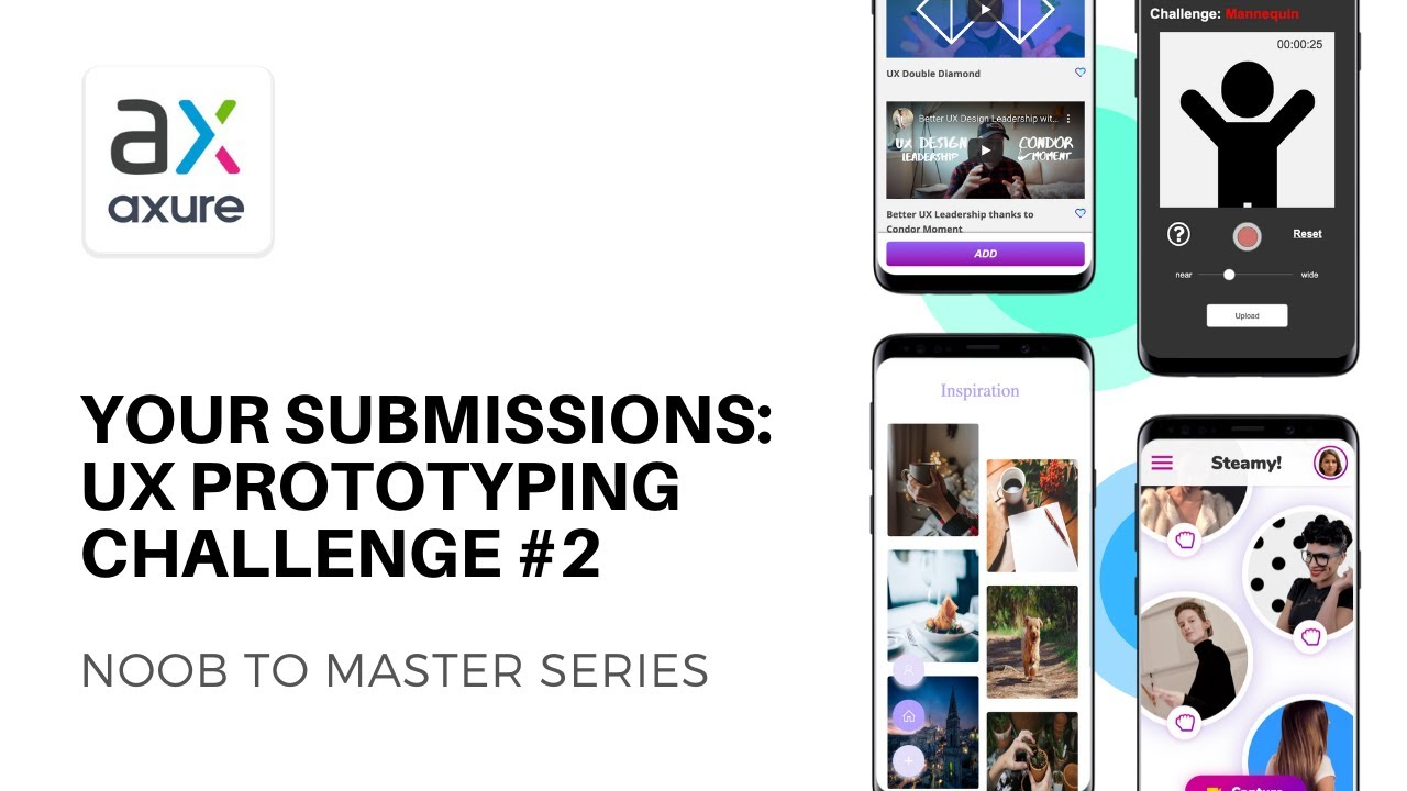 Your Submissions For Ux Prototyping Challenge 2 Axure Rp Noob To Master Youtube