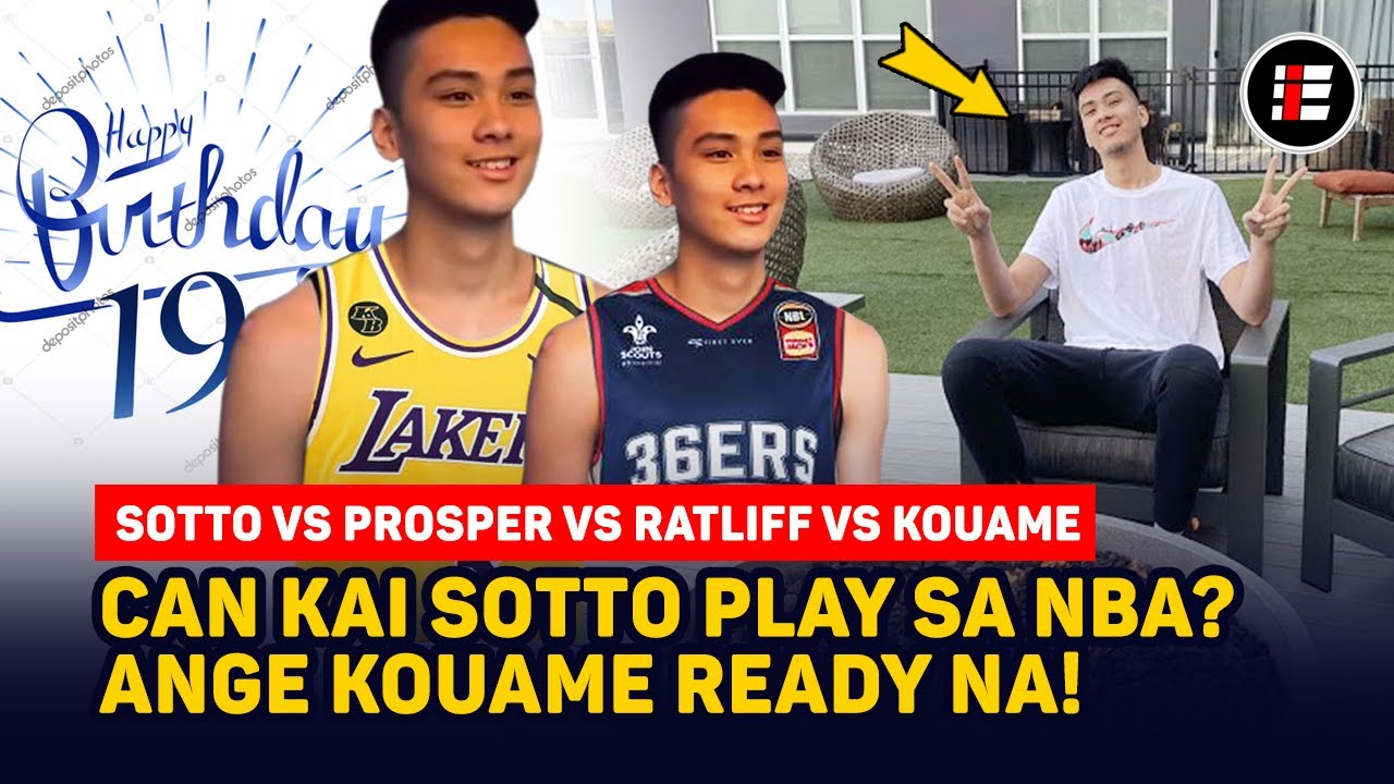 Can KAI SOTTO make it to the NBA? | HAPPY 19th BIRTHDAY