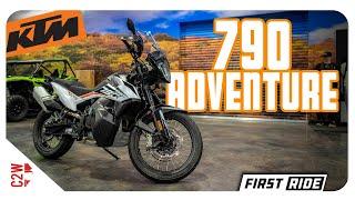 2019 KTM 790 Adventure  First Ride