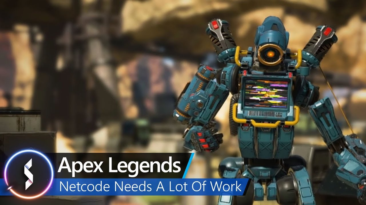 Apex Legends' netcode has big issues with lag, server