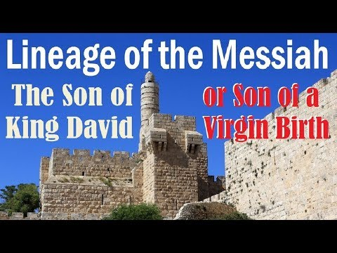 LINEAGE OF THE MESSIAH: Son Of King David Or Son Of A Virgin Birth
