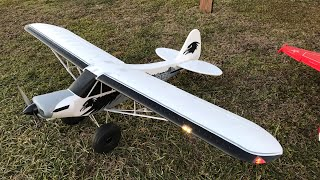 Fms Super Cub Pa-18 Stol 1700mm Build Setup At Field
