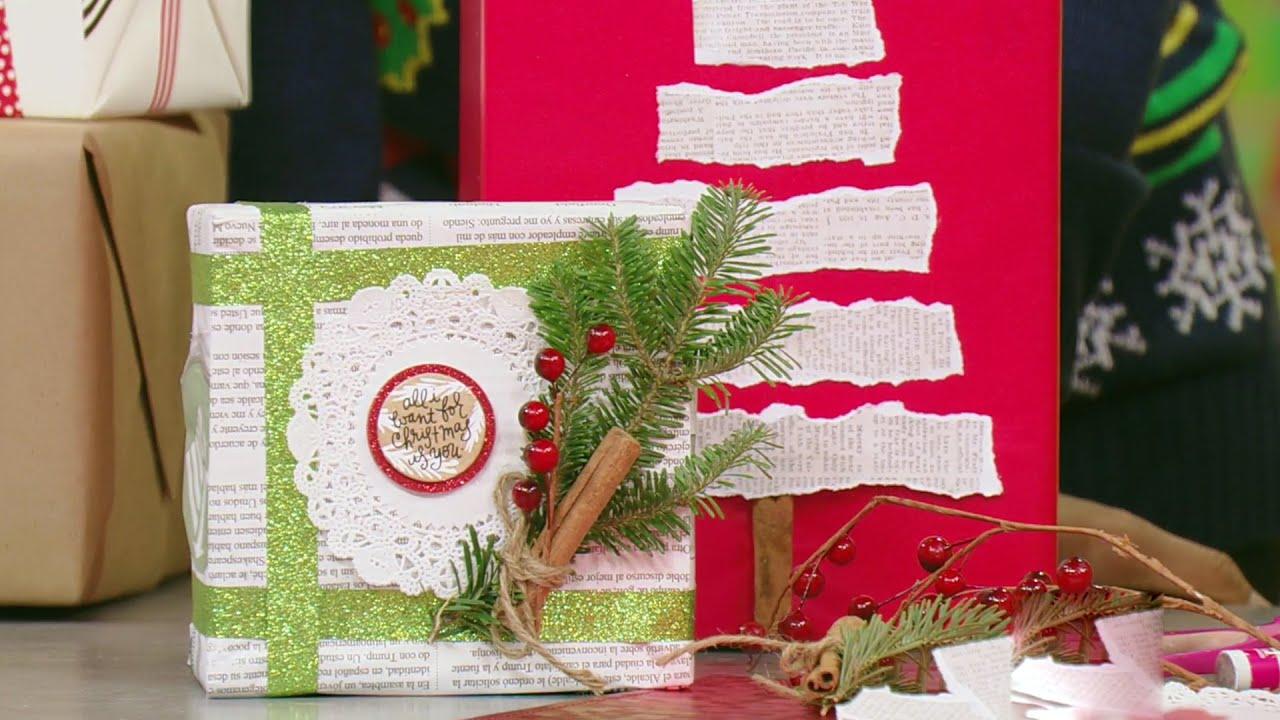La forma m s original de envolver tus regalos navide os - Envolver regalos grandes forma original ...