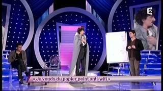 Arnaud Tsamere [64] Je vends du papier peint anti-wifi - ONDAR