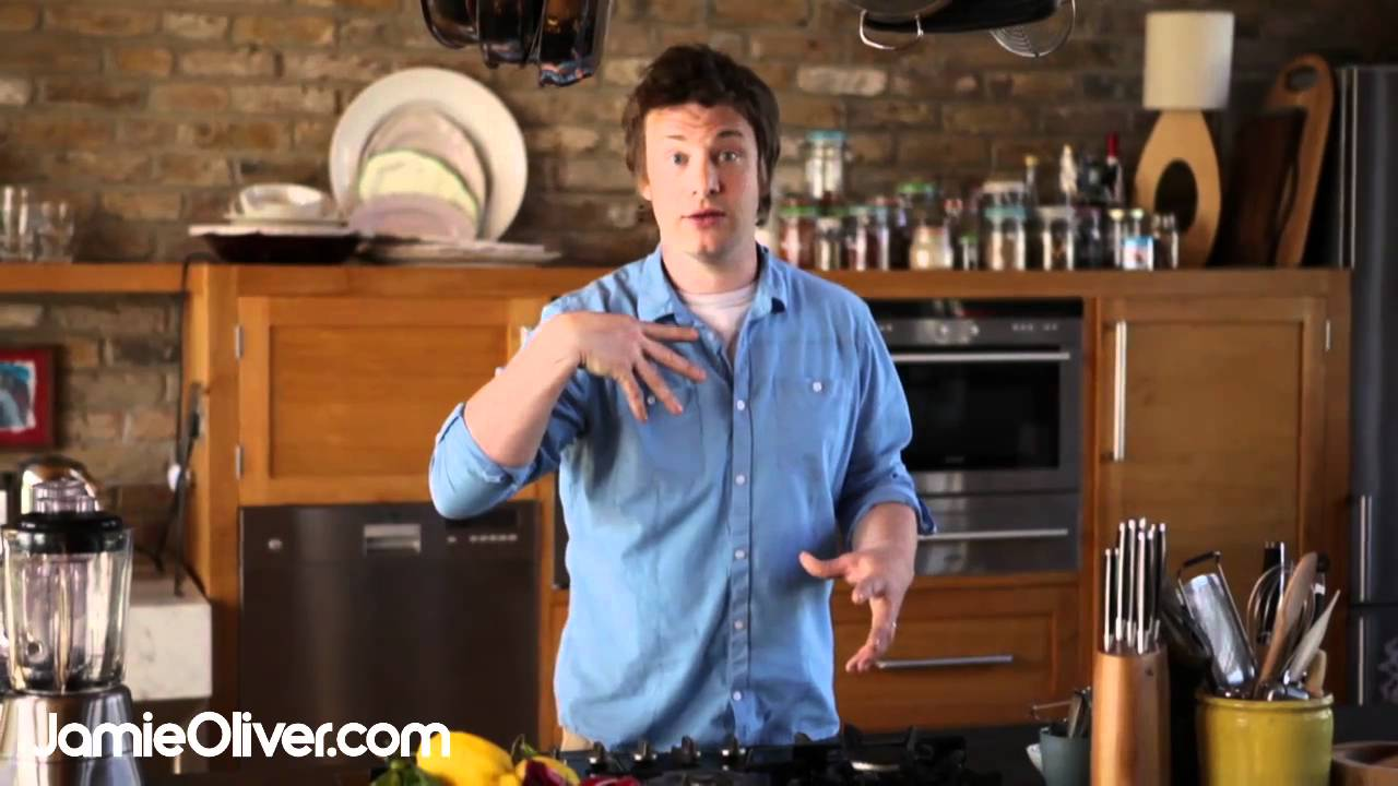 jamie oliver 39 s introduction to his 30 minute meals youtube. Black Bedroom Furniture Sets. Home Design Ideas