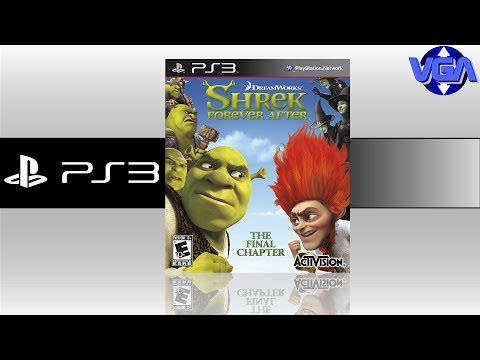 Shrek 4 Il était une fin Gameplay ps3 Xbox 360 ps2 wii 2010 Part 1 HD poster
