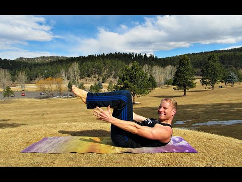 """37 Min """"Core Reborn"""" Pilates Bodyweight Workout Class + Warm Up & Yoga Cool Down Exercises #abs"""