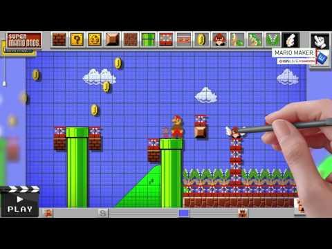 Mario Maker Gameplay Demo – IGN Live Gamescom 2014