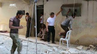 قوات النظام السوري تسيطر على نصف حي بستان الباشا في حلب