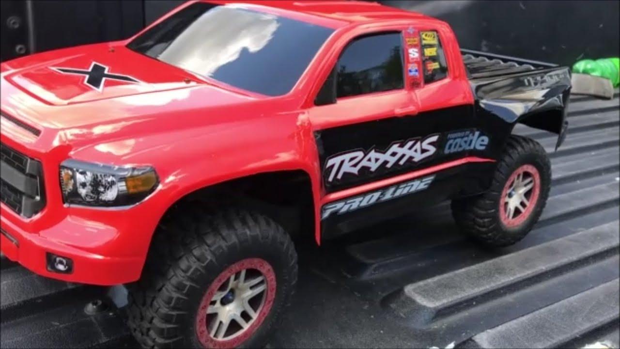 Proline Toyota Tundra TRD For Traxxas Slash Body