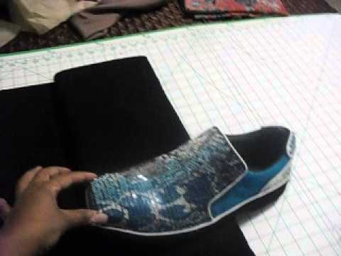 Learn how to redo your old shoes