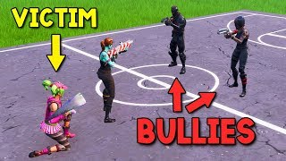 I helped a 10 Year Old Girl DESTROY TOXIC BULLIES in Playground thumbnail