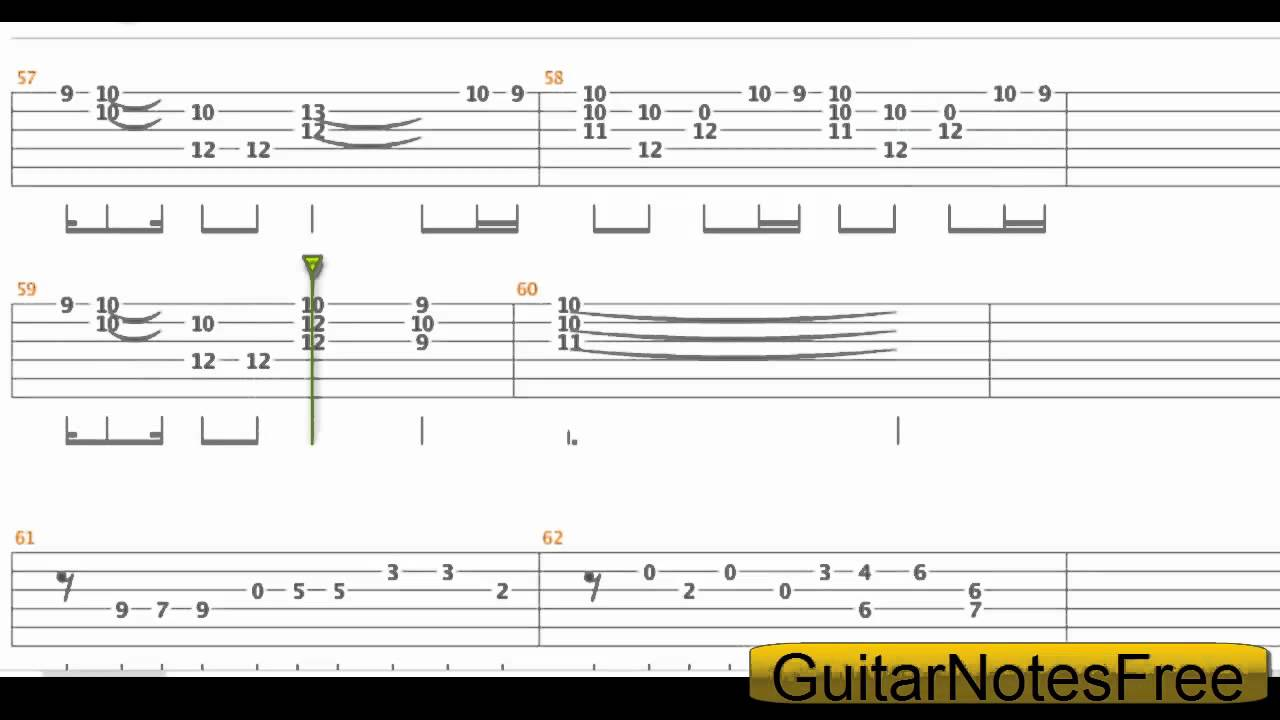 Jurassic Park - John Williams Guitar Tab HD - YouTube