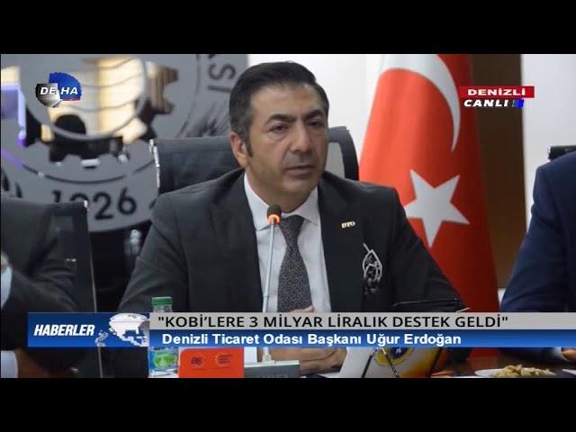 Deha Tv-KOBİ'lere müjde 12.04.2019