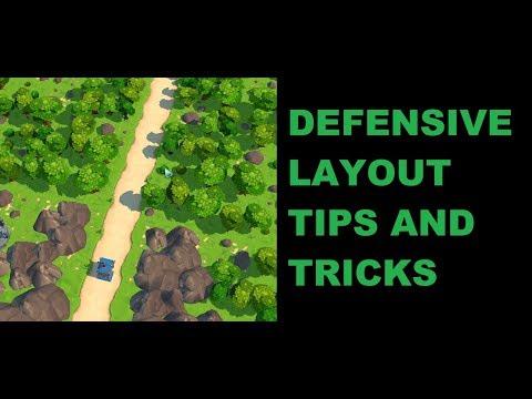 Royal Revolt 2: Defense Layout Tips And Tricks