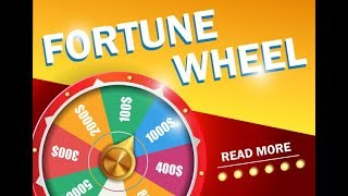 Unity wheel of fortune and Count Down Timer