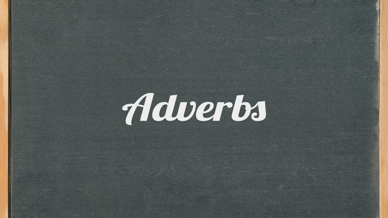 Adverbs   Lessons   Tes Teach adverbs   English grammar tutorial video lesson