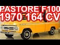 PASTORE Ford F100 Twin-I-Beam 272 1970 aro 16 MT3 RWD 4.5 V8 164 cv 33,4 mkgf #Ford