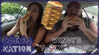 We Try Wendy's Secret T-Rex Burger | COMBOnation