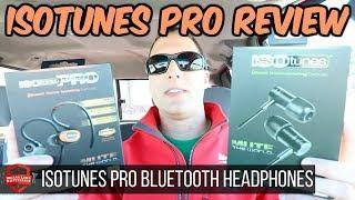 ISOTunes Pro Bluetooth Headphones Review!