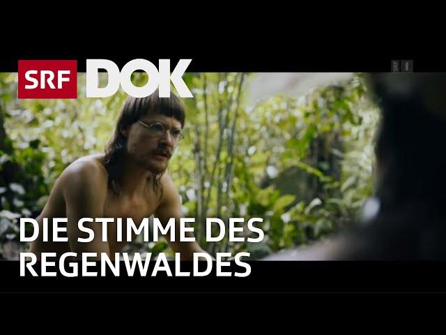 Kinovorführung für die Penan-Indianer auf Borneo | Umweltaktivist Bruno Manser | SRF DOK