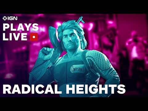 Radical Heights vs. PUBG and Fortnite: Can it Stand Out? -  IGN Plays Live