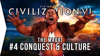 Let's Play Civ 6 Gathering Storm ► #4 Maori Conquest & Culture - [Civilization VI Gameplay]