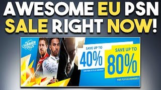 AWESOME EU PSN SALE RIGHT NOW! BIG PS4 Game STILL in Development?!