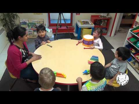 Great  Music Lesson in Preschool
