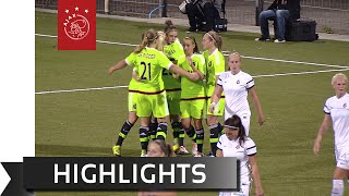 Highlights Telstar - Ajax Vrouwen