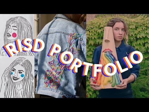 My Art School Application Process + Portfolio // Accepted at RISD, Parsons, SAIC + More!!