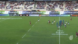 Ireland 20-24 Georgia - World Rugby U20 Highlights