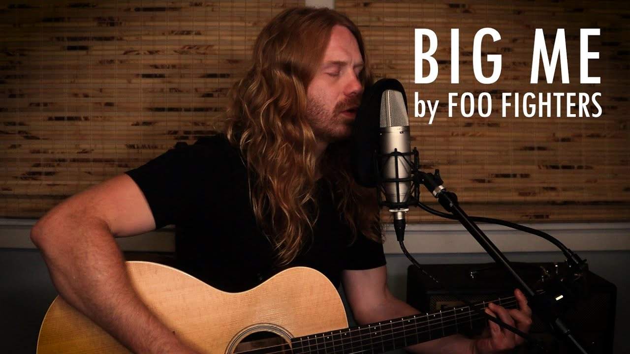 """""""Big Me"""" by Foo Fighters - Adam Pearce (Acoustic Cover)"""