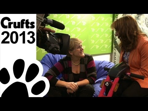 Behind The Scenes with Clare Balding - Crufts 2013