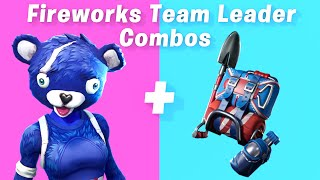 7 Best Fireworks Team Leader Skin + back bling combos in Fortnite