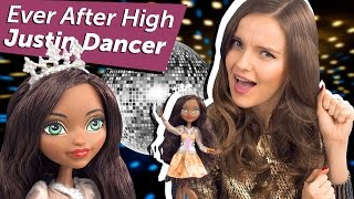 justin Dancer (Жюстин Дэнсер) Ever After High Обзор/Review, DHF94
