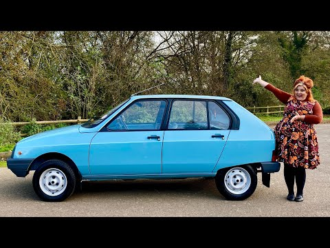 IDRIVEACLASSIC reviews: 80s Citroen Visa L (a rare French classic car!)