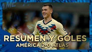 Resumen Y Goles  América 2-0 Atlas Estadio Azteca