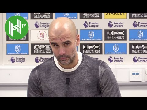 Huddersfield 0-3 Man City I Pep Guardiola: We will continue to improve in title run-in