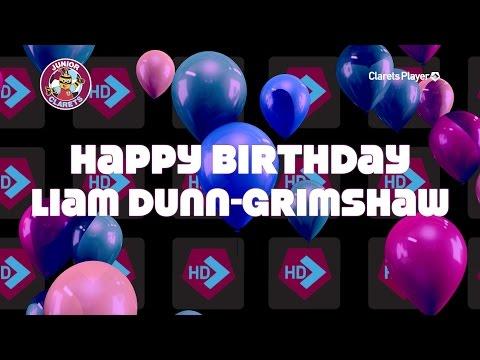 Happy Birthday Liam DunnGrimshaw