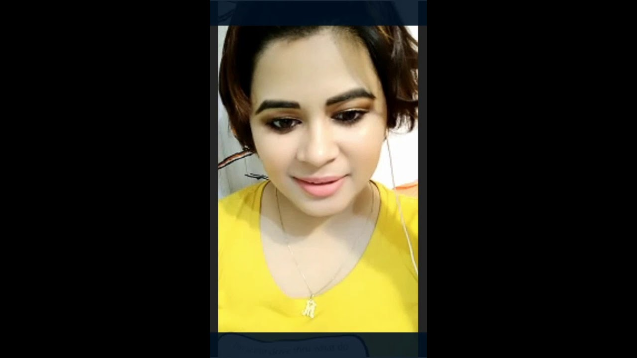 Hot Indian Desi Girl Imo Video Call College Girl Bigo Hot -1738