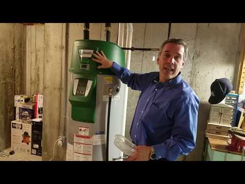 Hot Water Heater Tips - AO Smith Vertex Gas Fired Unit