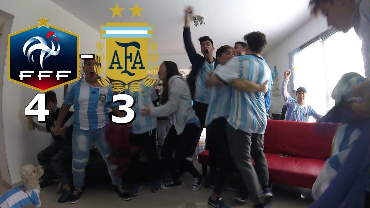 ||REACCIONES|| ARGENTINA 3 VS FRANCIA 4|| MUNDIAL RUSIA 2018|| OCTAVOS DE FINAL||