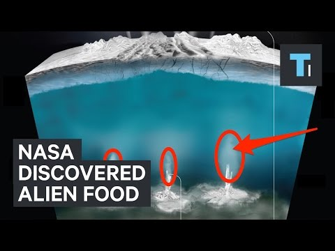 NASA just discovered the first food source for potential aliens