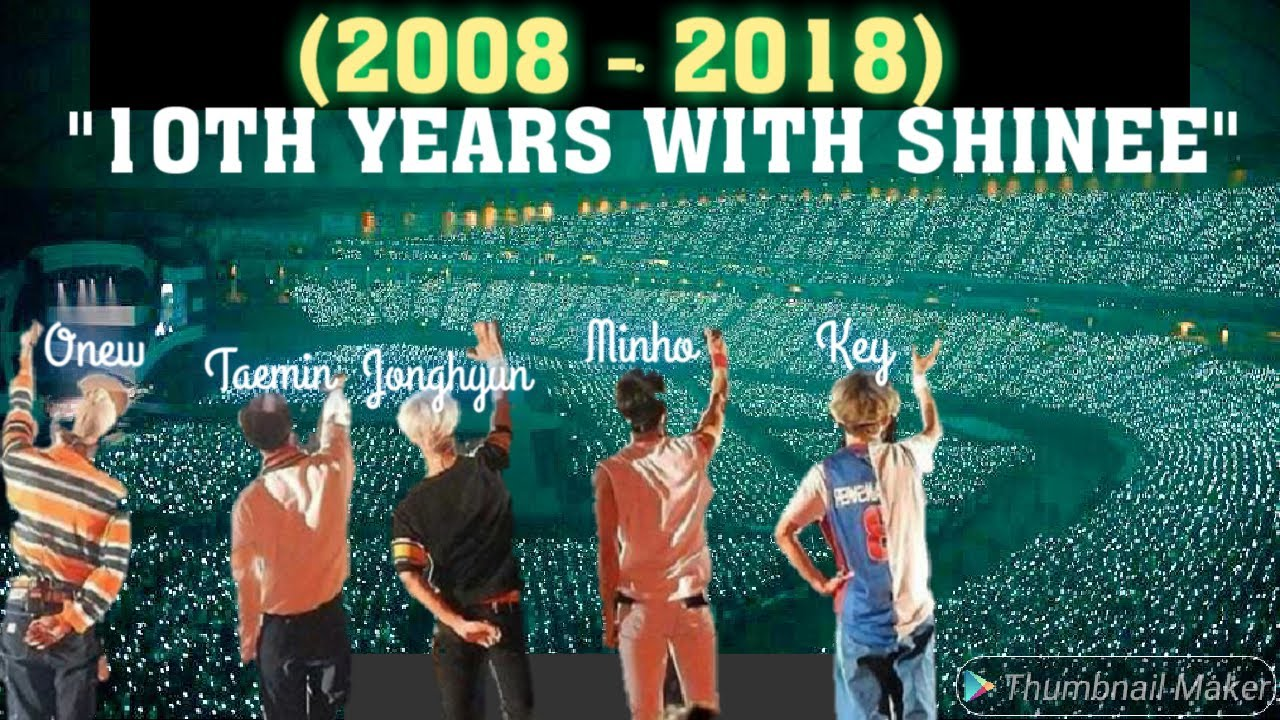 SHINee is Real FAMILY!! (2008-2018)