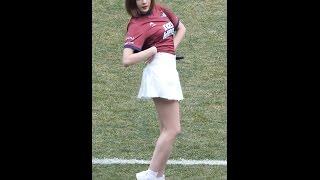 170312 에이핑크 (Apink) Only one(내가 설렐 수 있게) [하영] Hayoung 직캠 Fancam (2017 FC대전시티즌 홈개막전) by Mera