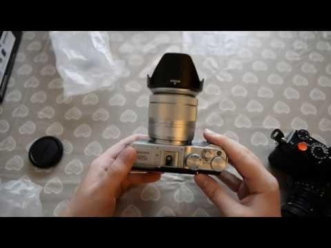 Fujifilm XA2 + 16-50mm unboxing