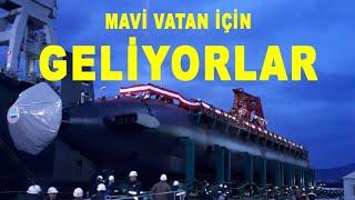 Türkiye'nin denizdeki yeni silahları 2021 - New weapons at sea in Turkey 2021 - Anadolu - Ufuk